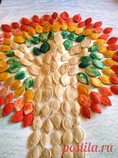 El árbol de las semillas de calabazas — la tarjeta del usuario trubitsina-poberezshn.olesya en el Yandex. Las colecciones