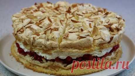 """Торт """"Небесный"""" (Himmelstorte) легкий, воздушный и очень вкусный"""