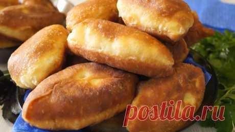 Пирожки без дрожжей,на вкус как дрожжевые - Простые рецепты Овкусе.ру