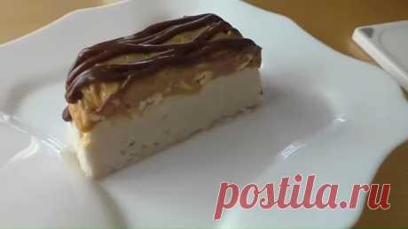 Домашний торт мороженое сникерс - БУДЕТ ВКУСНО! - медиаплатформа МирТесен