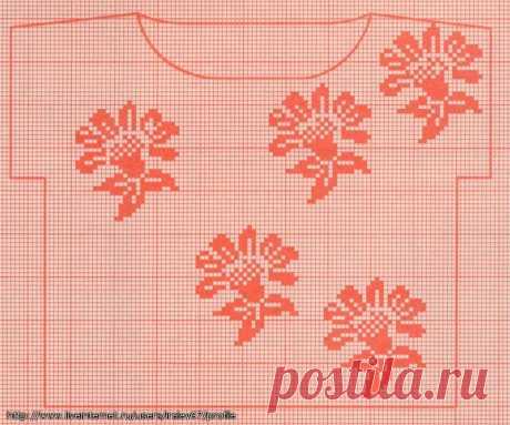 Филейное вязание — красивые кофточки + схемы   razpetelka.ru