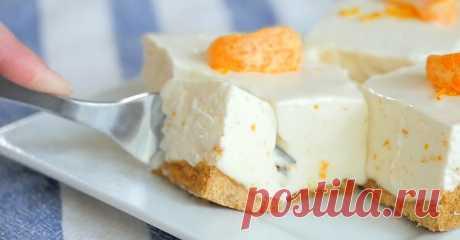 Простой рецепт чизкейка: нежнейший десерт из печенья.