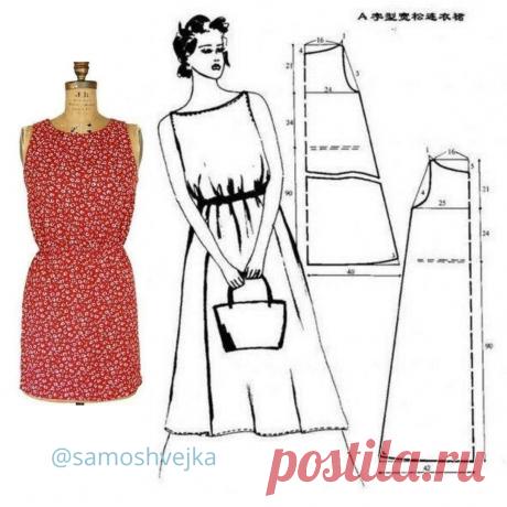 Простые летние платья, которые легко кроить и шить: 4 варианта | Самошвейка | Яндекс Дзен