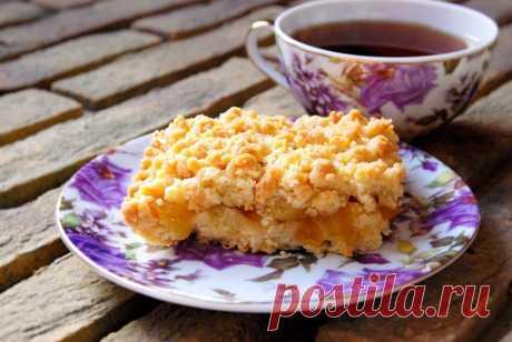 Пирог, от которого не останется даже крошки (буквально). Очень простой рецепт   Кафе-Шафран   Пульс Mail.ru Для любителей песочного теста