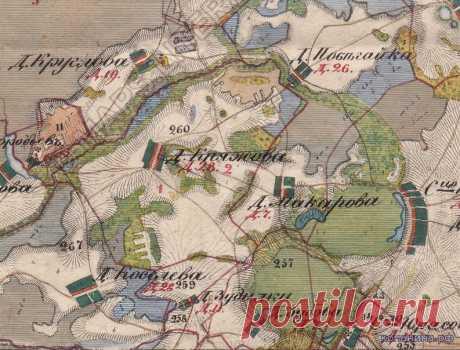 Старые карты Российской Империи - Старые Карты - Статьи - Военная археология, история