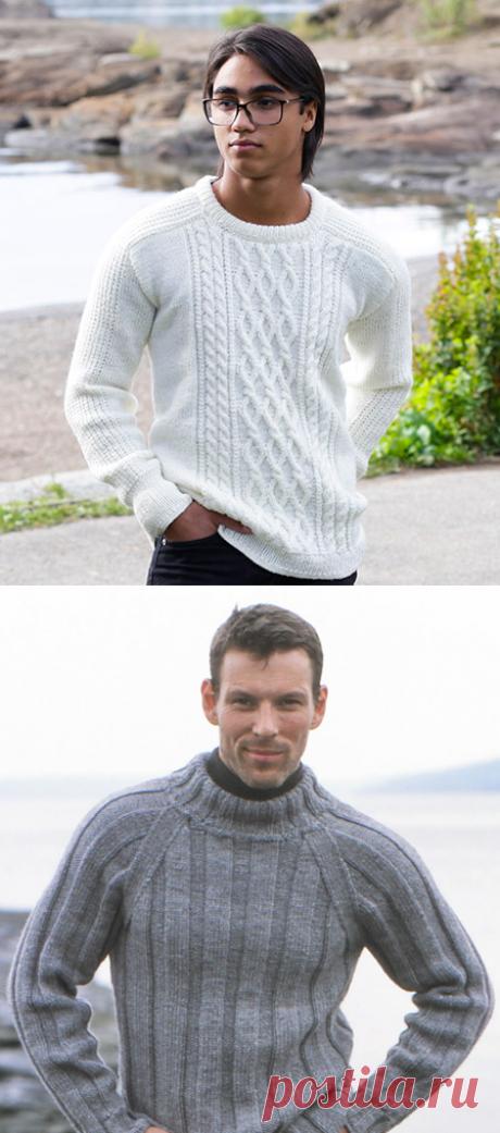 Як зв'язати чоловічий светр спицями: схеми і фото 2019
