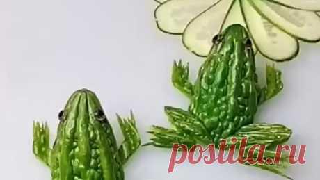 Невероятное творчество из овощей