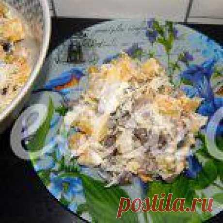 Салат с грибами и картофелем: рецепт с пошаговым фото - Овощные салаты от 1001 ЕДА
