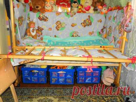 продолжение к детской кроватк