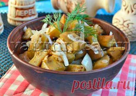 Вкусные баклажаны как грибы – пошаговый рецепт с фото