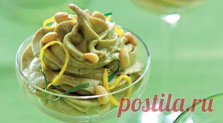 Крем из авокадо, пошаговый рецепт с фото