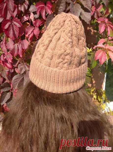 Самая модная шапка 2020-2021. Подробный мастер-класс. - Вязание - Страна Мам