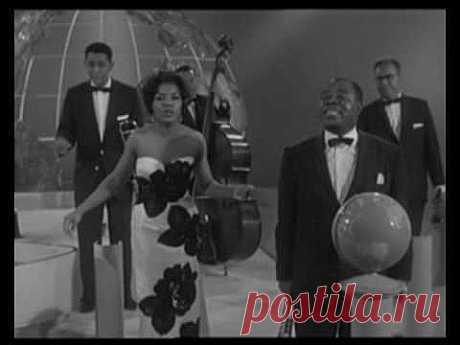 Любителям джаза! Для вас поёт и играет непревзойдённый Louis Armstrong! | 5минутка