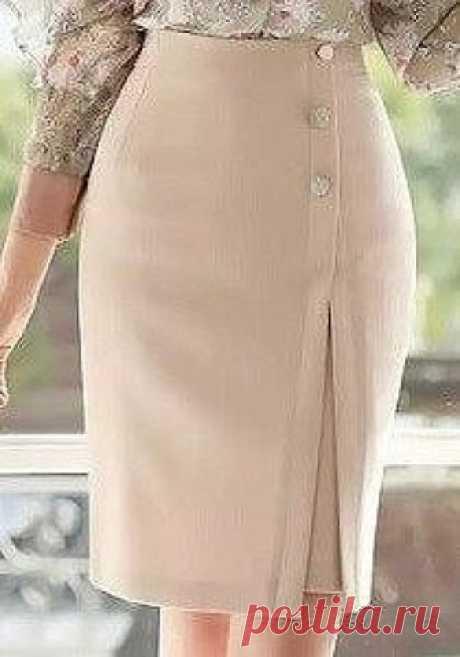 Выкройка прямой юбки – интересный фасон (Шитье и крой)