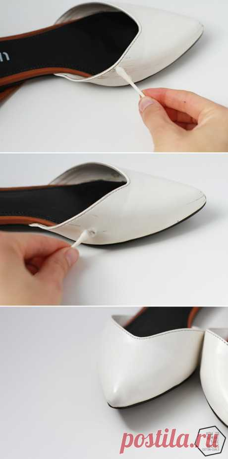 How to easily remove scuffs from shoes