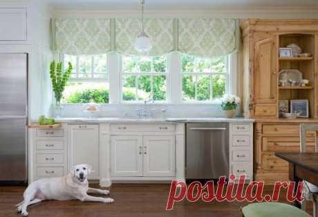 Как выбрать лучшие шторы для кухни
