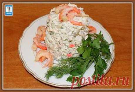 Салат «морской коктейль». Рецепт. Как приготовить «морской коктейль» | Вкусная еда