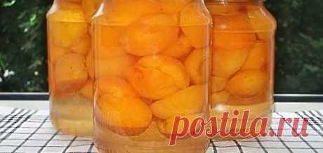 Компот из персиков половинками на зиму - Вкусно готовим дома
