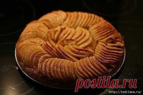 Норвежский яблочный торт