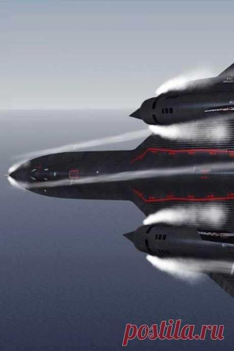 SR-71 Blackbird |авиация