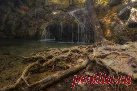 Ущелье водопада Джур-Джур, Крым. Автор фотографии - Анатолий: