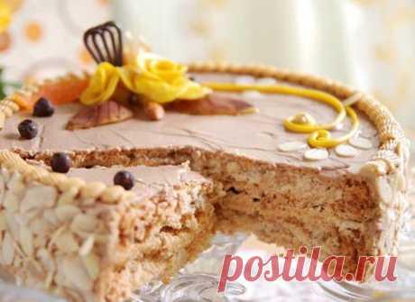 Один из лучших рецептов Киевского тортика.