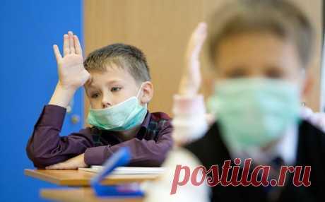 Врачи рассказали, как защитить школьников в период пандемии COVID-19