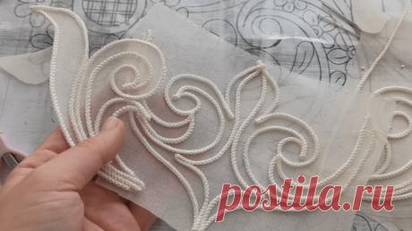 Простая техника создания декоративных деталей
