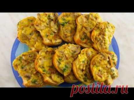 Горячие бутерброды с грибами - шампиньонами - запись пользователя tigrina16 (Инна) в сообществе Болталка в категории Кулинария