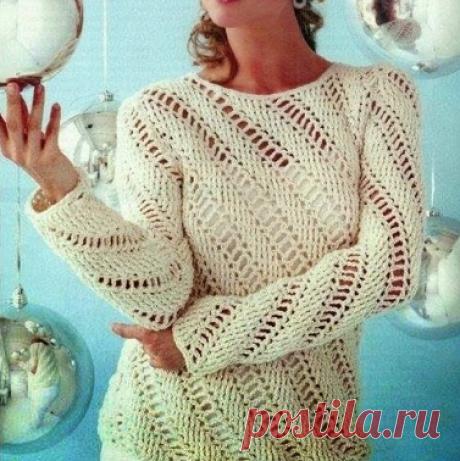 Wonderful and elegant white crochet pattern blouse !! - free crochet