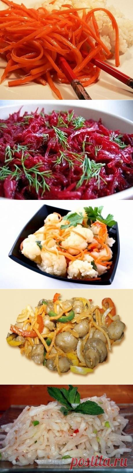 Салаты по-корейски - рецепт, ингридиенты и фотографии