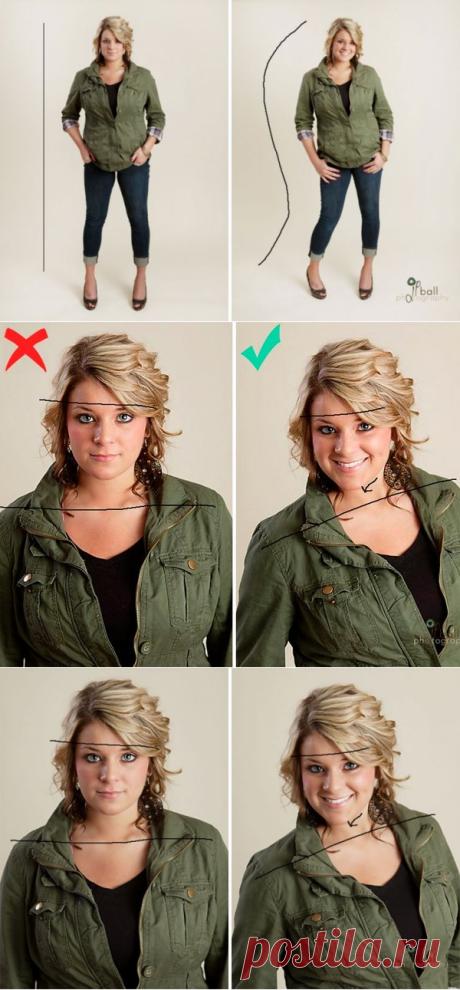 6 секретов, которые помогут выглядеть красиво на фотографиях