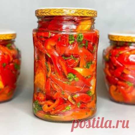 Болгарский перец по-Корейски на зиму