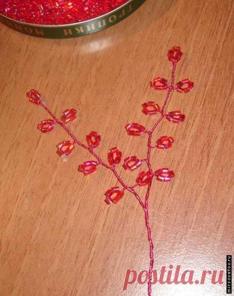 Бонсай из бисера своими руками – вечно цветущая японская сакура у вас дома.