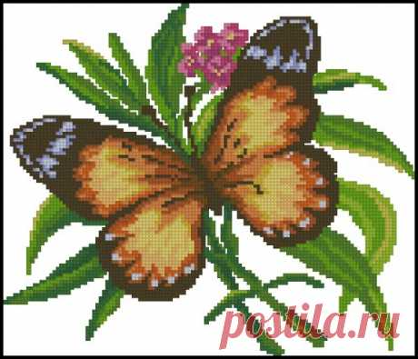 CHM2006-12 Butterfly- схемы вышивки бабочек