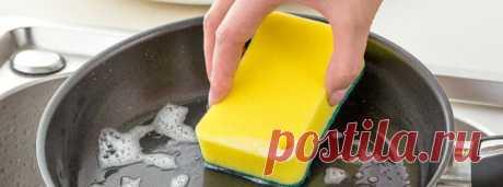 Почему кухонная губка для мытья посуды опасна и чем ее заменить