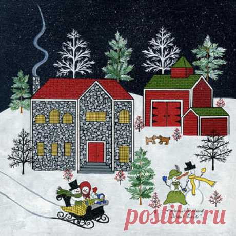 Снежная любовь - сбор пазла Лучшая коллекция пазлов для взрослых и детей: собирайте и создавайте свои собственные пазлы.