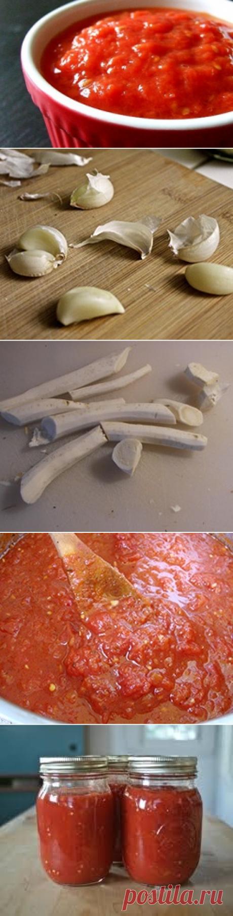 Хреновая закуска на зиму / Соусы универсальные / TVCook: пошаговые рецепты с фото