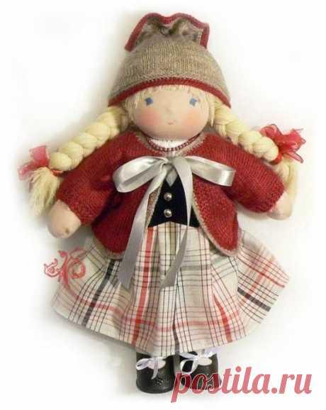 Знакомимся с вальдорфской куклой / Мир игрушки / Вальдорфская кукла