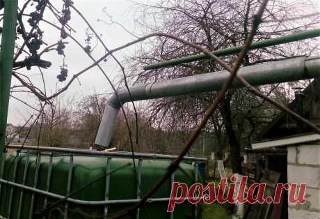 Сделали из еврокуба самополив для огорода. И теперь грядки поливаются сами и только теплой водой   Маленький сад на краю Вселенной   Яндекс Дзен