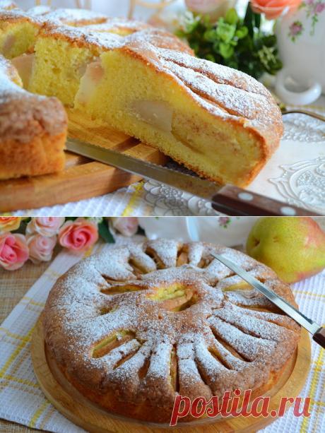 Бретонский пирог с грушами: рецепт с фото пошагово