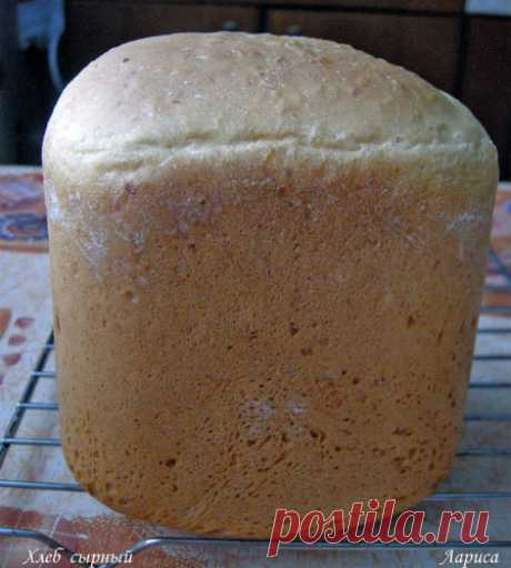 Печем в хлебопечке. Сырный хлеб.