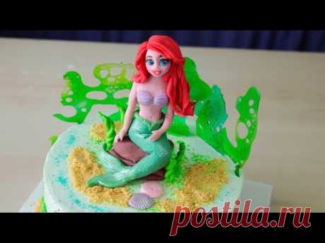Творожный крем для покрытия торта. Ариэль - фигурка из мастики - Я - ТОРТодел!