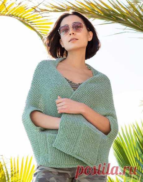 Lana Grossa CAPE-JACKE IM STRUKTURMUSTER Ecopuno - FILATI Handstrick No. 71 - Modell 9 | FILATI.cc Onlineshop
