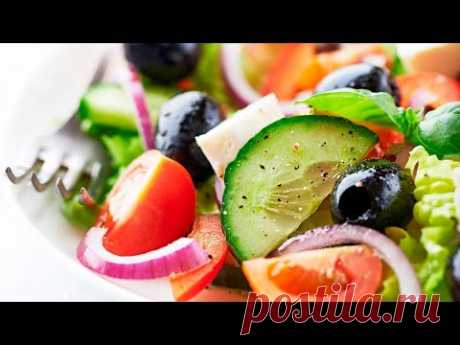 Настоящий ГРЕЧЕСКИЙ САЛАТ | Заправка для греческого салата | Кето рецепты #shorts