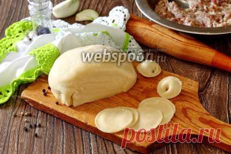 Заварное тесто для пельменей на кипятке рецепт с фото, как приготовить на Webspoon.ru