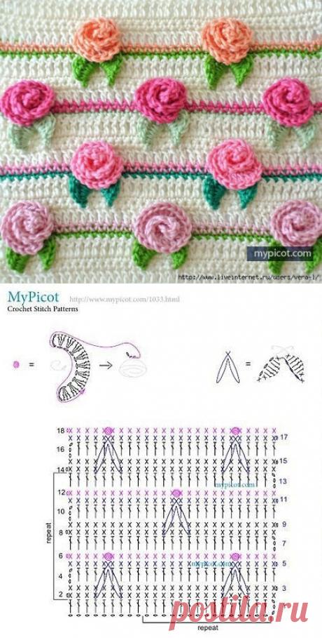 """Pattern of \""""Rosette\"""" hook"""