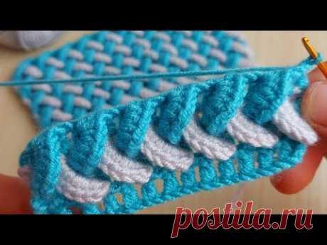 How to Crochet Knitting -  cok kolay cok guzel yelek battaniye  örgü modeline bayılacaksınız