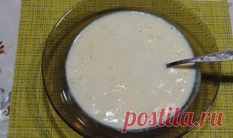 Как приготовить молочную кашу на завтрак за 3 минуты