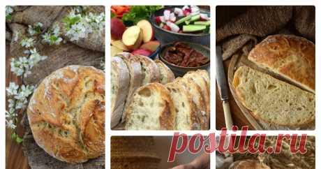 Хлеб без замеса - самый простой рецепт Автор — Антонина Потепалова